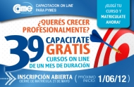 39 cursos gratuitos On Line de la CAME